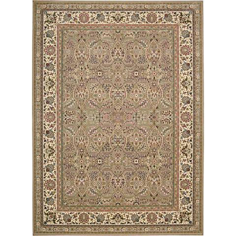 Kathy Ireland Antiquities ANT03 Cream Area Rug