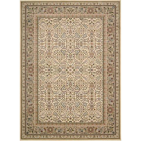 Kathy Ireland Antiquities ANT03 Ivory Area Rug