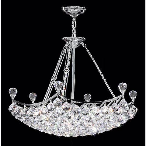 James R. Moder Granada Crystal Collection Pendant Chandelier