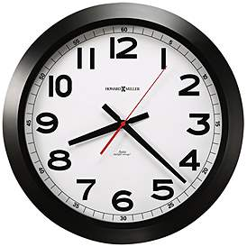 Howard Miller Jacobson 15 3 4 W Black And White Clock