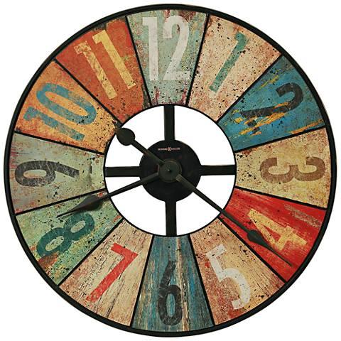 "Howard Miller Grange Hall 27 1/2"" Round Wall Clock"