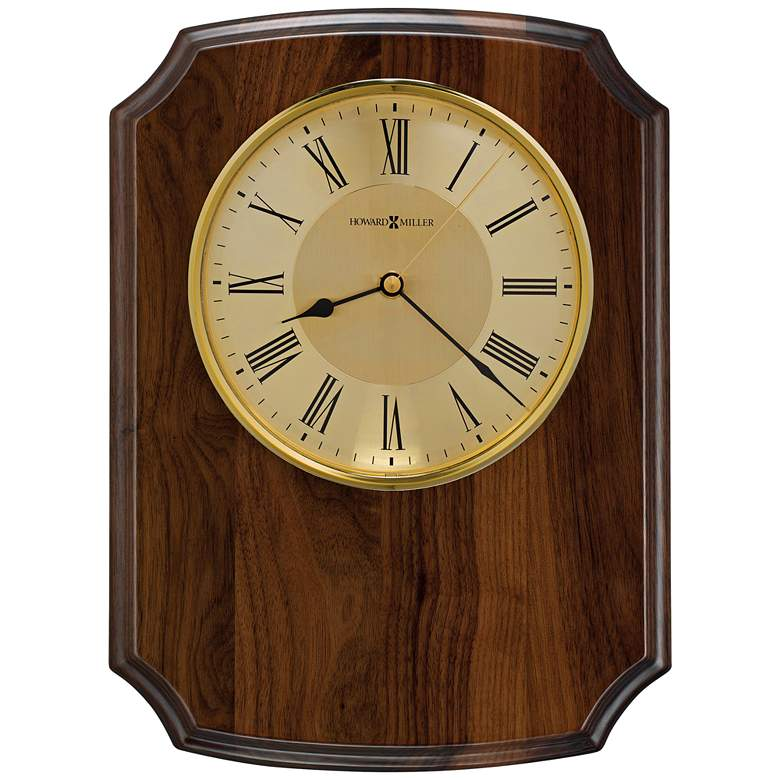 "Howard Miller Honor Time Herald 13 1/2""H Piano Wall Clock"