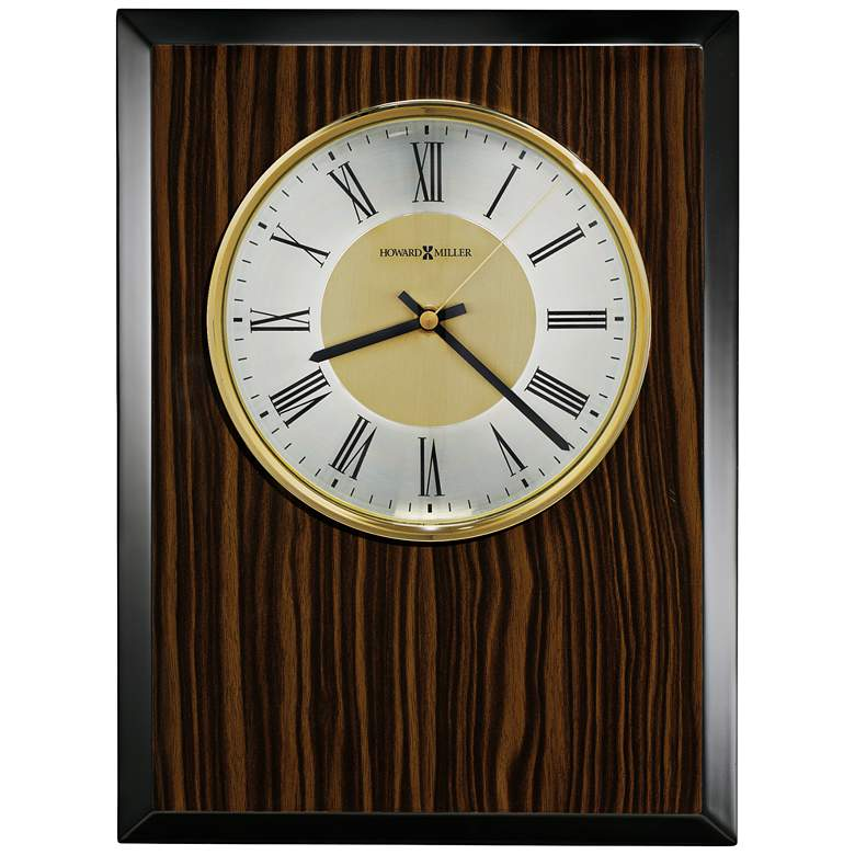 """Howard Miller Honor Time 13 1/2"""" High Plaque Wall Clock"""
