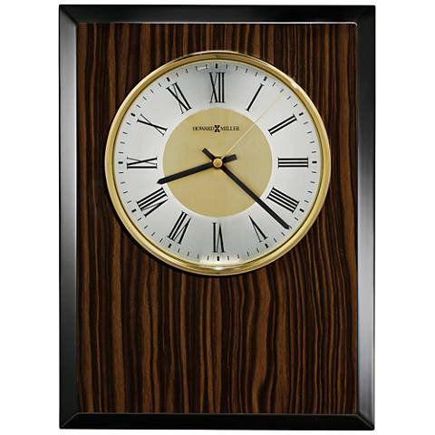 "Howard Miller Honor Time Tempo 13 1/2""H Piano Wall Clock"