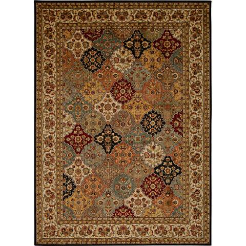 Ancient Times BAB03 Multi-Color Area Rug