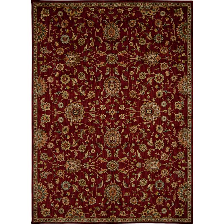Kathy Ireland Ancient Times BAB05 Red Area Rug