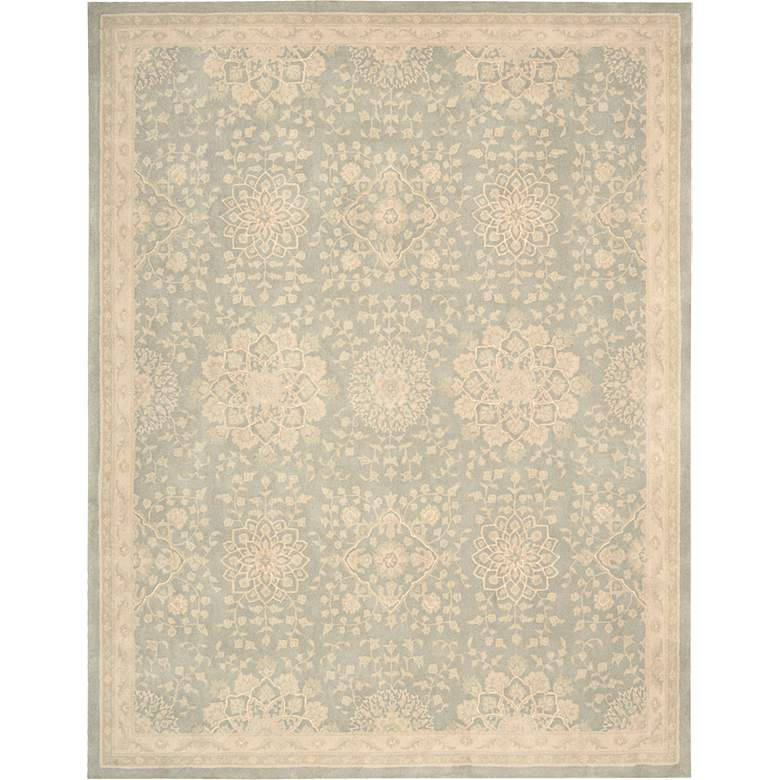 Nourison Royal Serenity SER02 Cloud Wool Area Rug