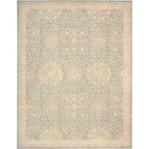 Nourison Royal Serenity SER02 Cloud Wool Area Rug