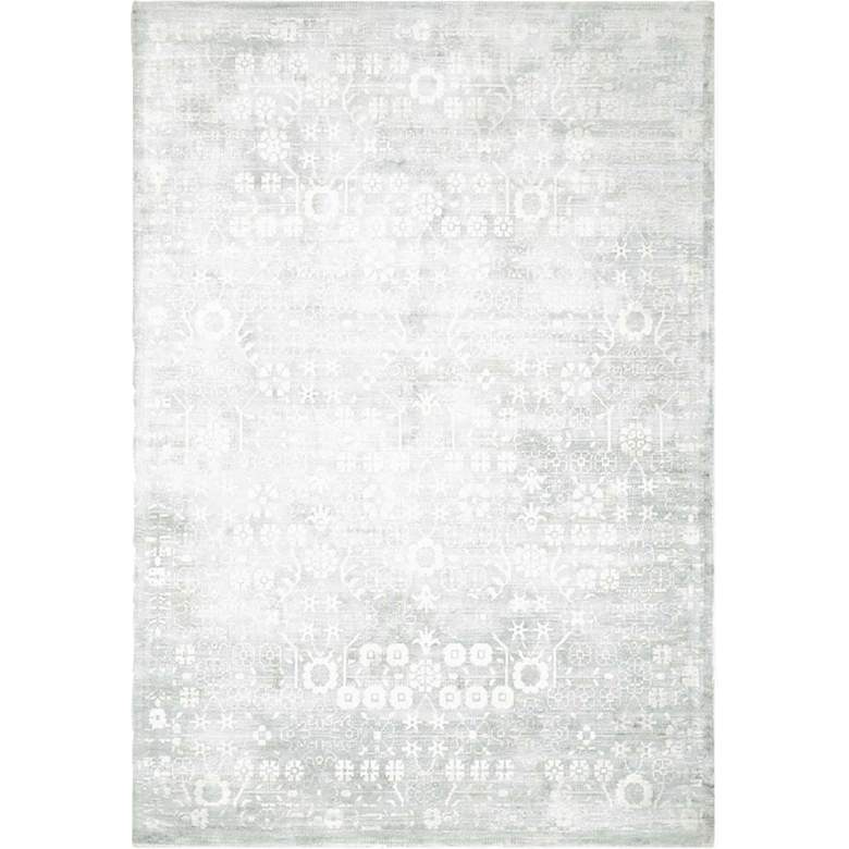 Desert Skies DSK02 Silver and Green Area Rug