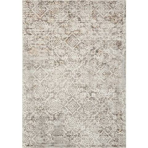 Kathy Ireland Desert Skies DSK03 Gray Area Rug