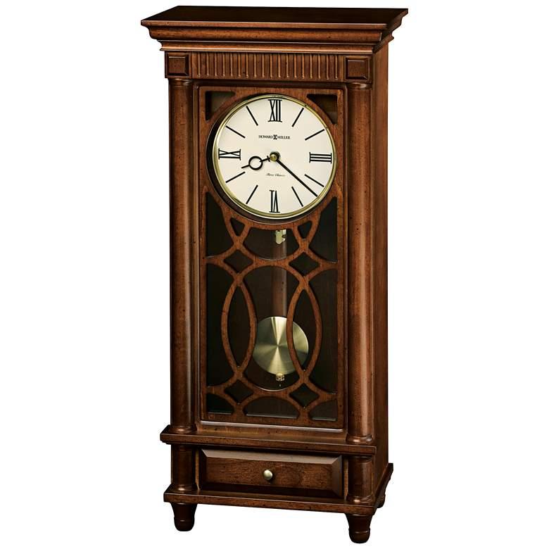 "Lorna 22 1/2"" High Pendulm Musical Chiming Mantel Clock"