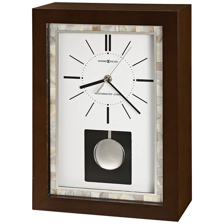 "Holden 13 3/4"" High Pendulum Chiming Mantel Clock"