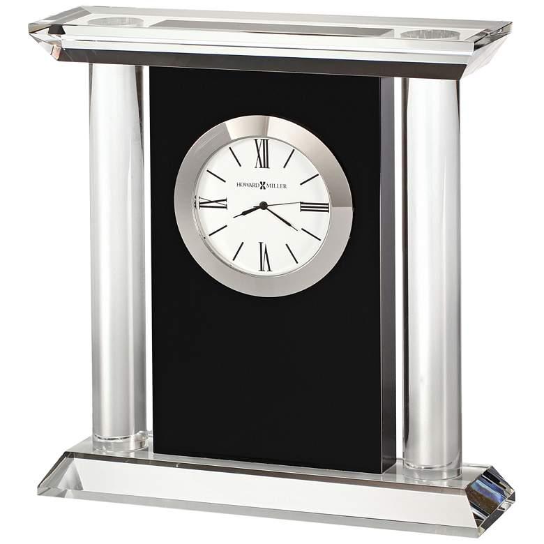 "Howard Miller Colonnade 6 3/4"" High Optical Crystal Clock"