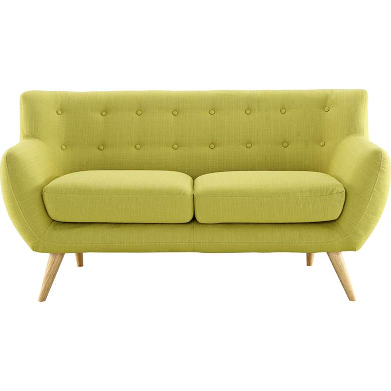 """Remark 61 1/2"""" Wide Fabric Tufted Loveseat"""