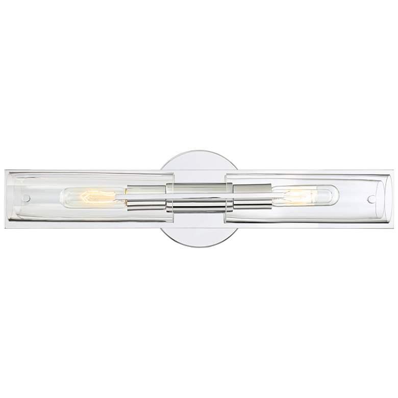 "Possini Euro Pax 23 1/2""W Chrome Vanity Bath Light"