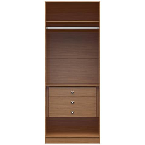Chelsea 2.0 Maple Cream Wood Basic Wardrobe Closet