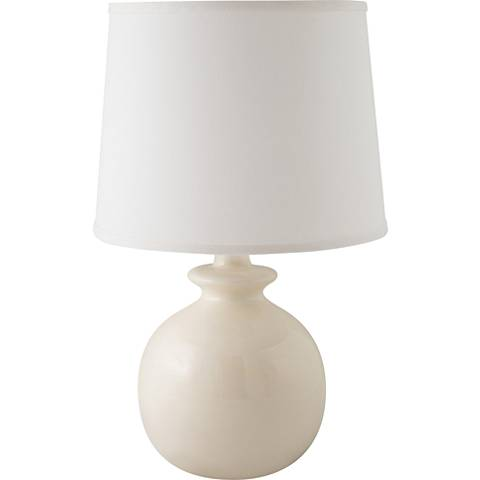 RiverCeramic® Bristol Gloss White Table Lamp