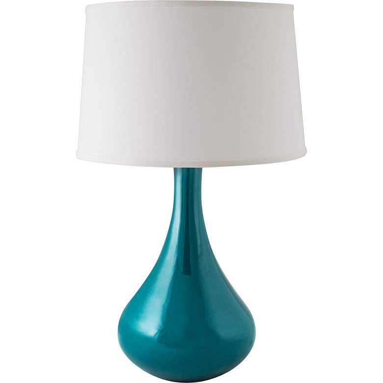 RiverCeramic® Genie Gloss Ocean Table Lamp