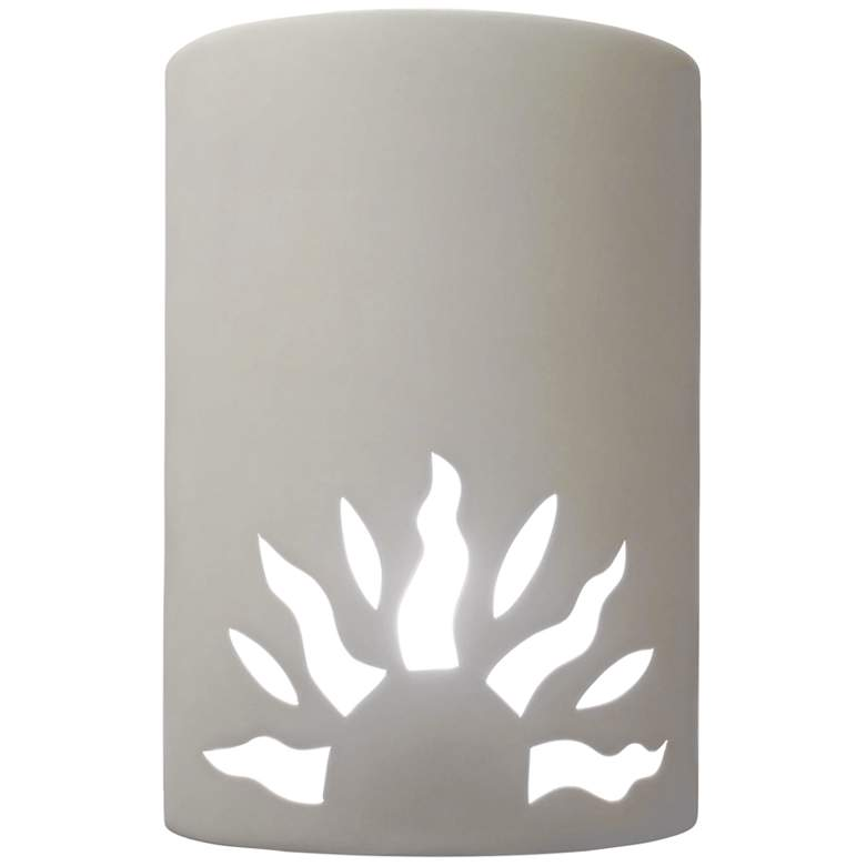 "Asavva 10 1/2"" High White Outdoor Wall Light"