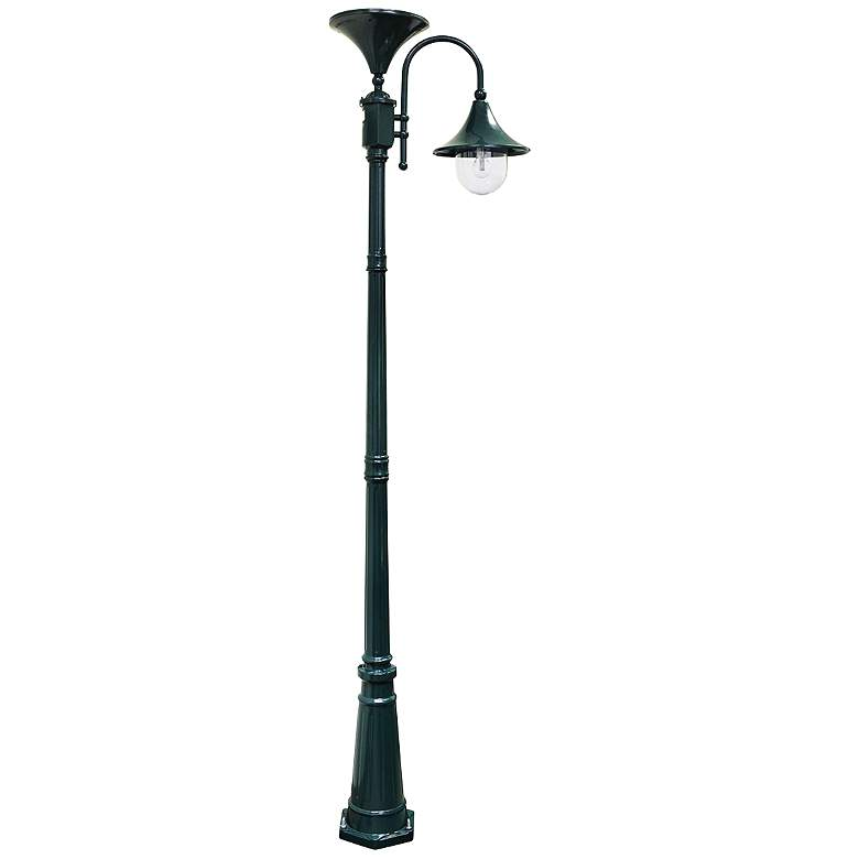 "Everest 92"" High Green Solar LED Outdoor Post"