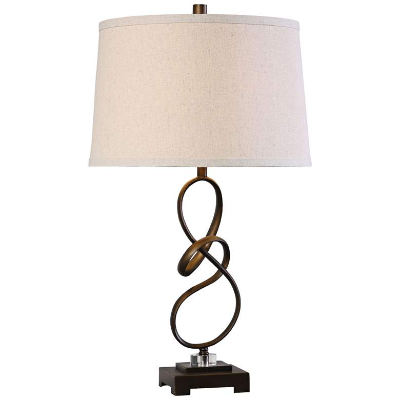 Uttermost Tenley Oil Rubbed Bronze Hand-Twisted Table Lamp