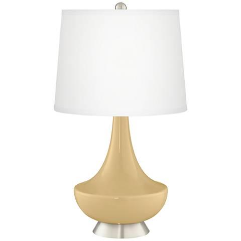 Humble Gold Gillan Glass Table Lamp