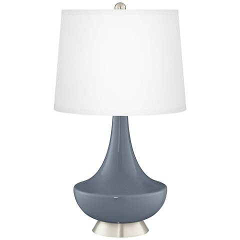 Granite Peak Gillan Glass Table Lamp