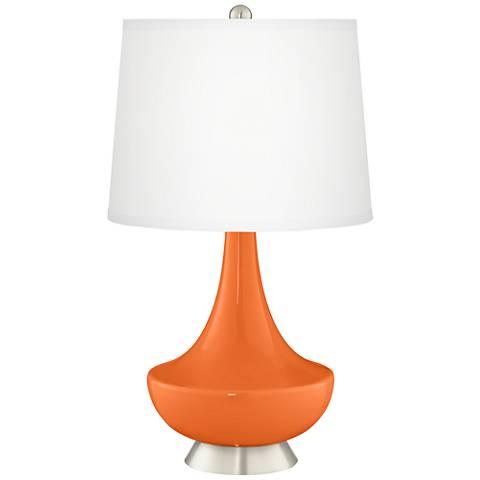 Invigorate Gillan Glass Table Lamp
