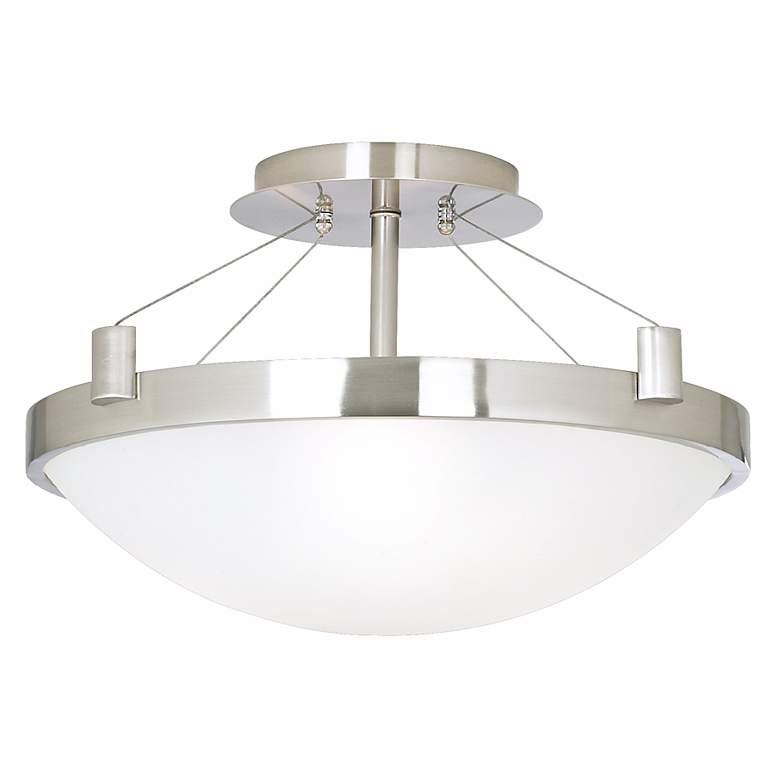 "Contemporary Suspension 17 1/4"" Wide Ceiling Light Fixture"