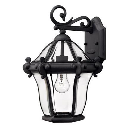 La Cumbre Black Outdoor Lighting Collection