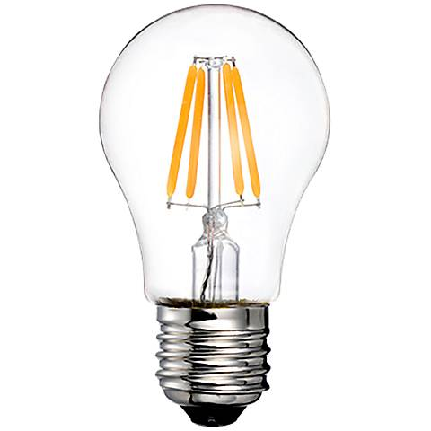 60W Equivalent Clear 5W LED Dimmable Standard A15 Bulb