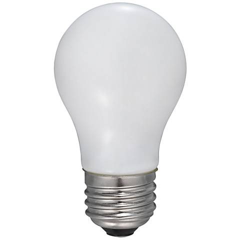 60W Equivalent Frosted 5W LED Dimmable Standard A15 Bulb