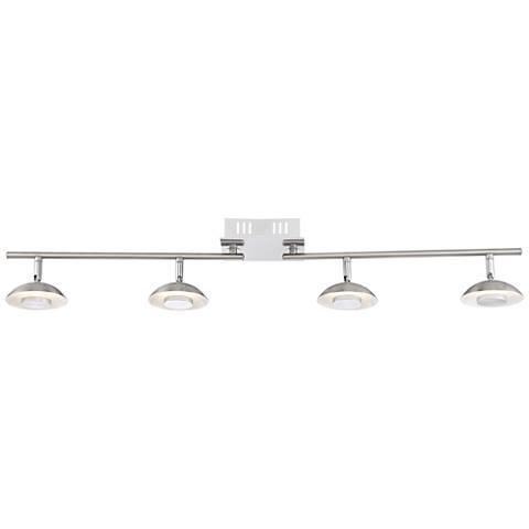 Pro Track Abby 4-Light Satin Nickel LED Track Light