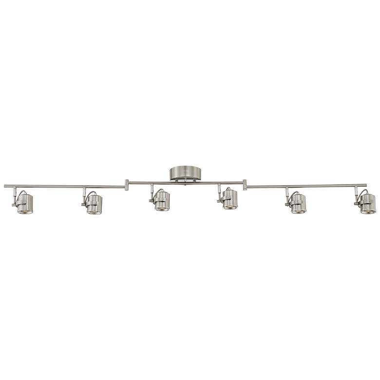 Pro Track Mason 6-Light Satin Nickel LED Track Light
