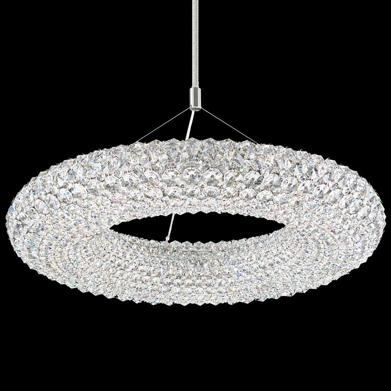 "Schonbek Cassini 25"" Wide Crystal Pendant Light"