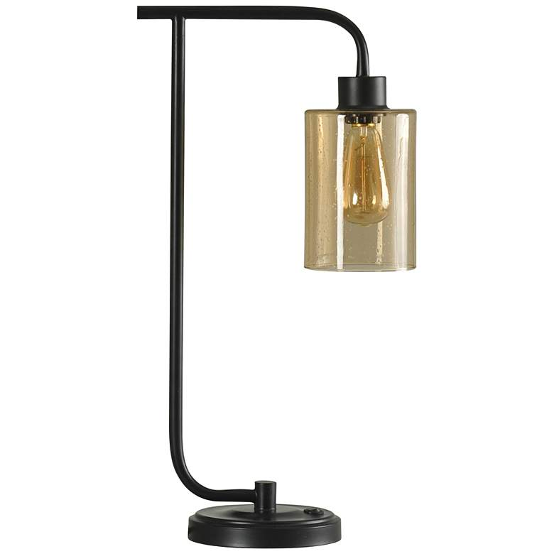 Edison Restoration Bronze Metal Desk Lamp