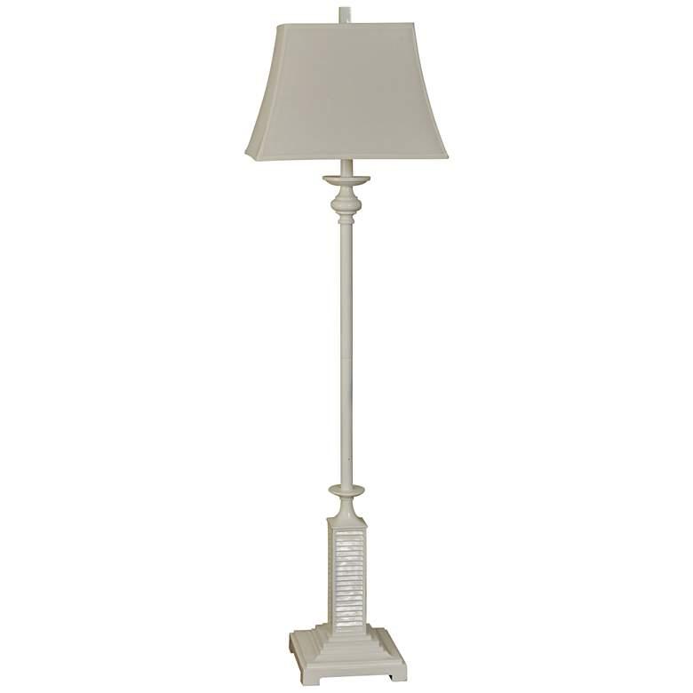 Olympia Gloss White Floor Lamp