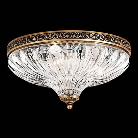 Schonbek milano 12w florentine bronze crystal ceiling light schonbek milano 12w florentine bronze crystal ceiling light mozeypictures Images