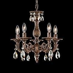Schonbek small 13 22 in wide chandeliers lamps plus schonbek milano 13 12w heirloom bronze crystal chandelier mozeypictures Images
