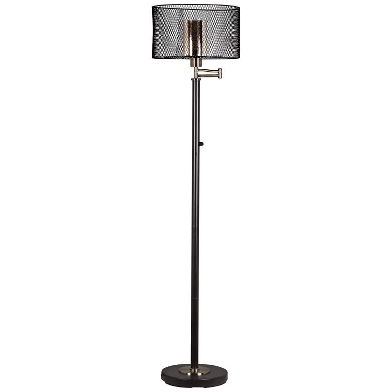 Dale Tiffany Hardy LED Oil Rubbed Bronze Floor Lamp