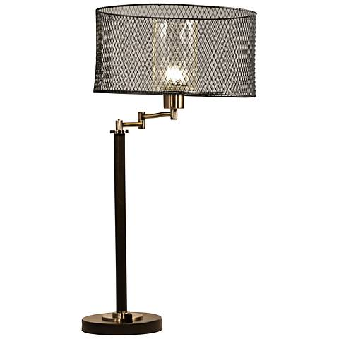 Dale Tiffany Hardy LED Oil Rubbed Bronze Table Lamp