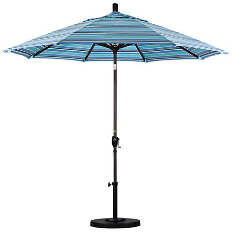 Pacific Trails 9-Foot Dolce Oasis Round Market Umbrella