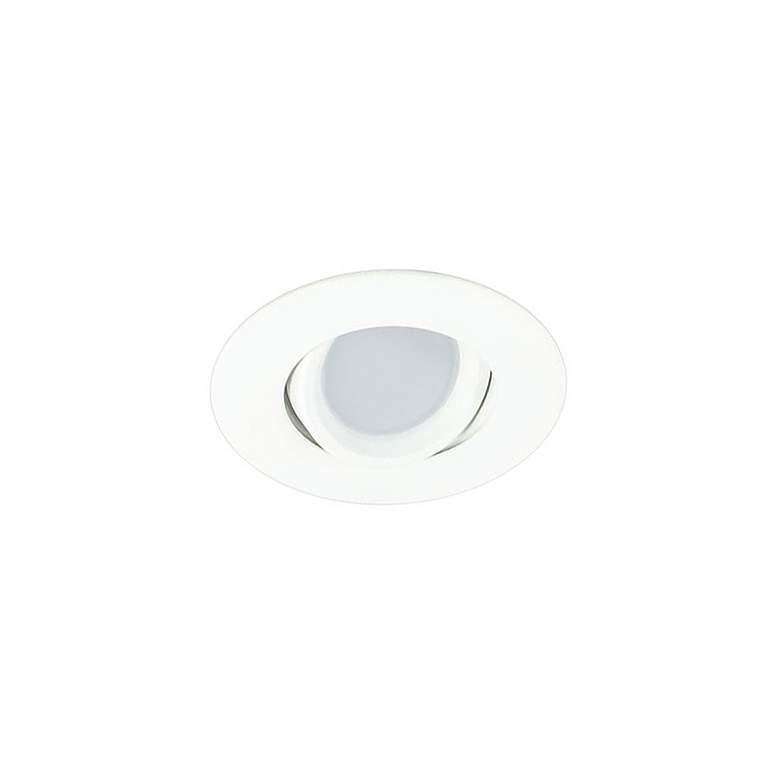"""3"""" White Swivel Gimbal 7.5 Watt LED Remodel Recessed Kit"""