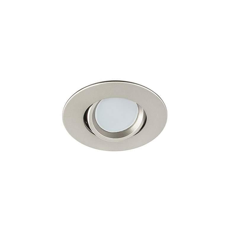 "3"" Nickel Swivel Gimbal 7.5 Watt LED Remodel"