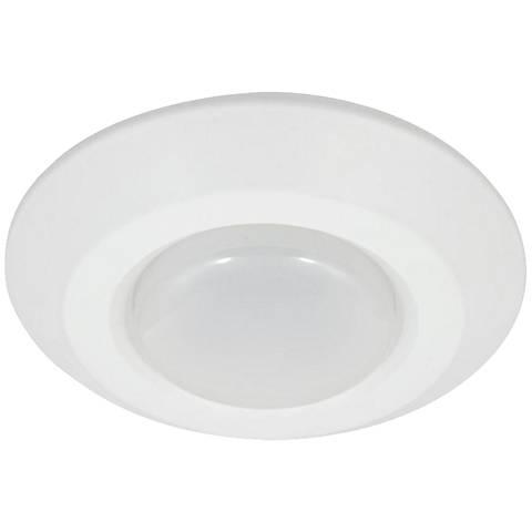 "4"" White 8 Watt LED Surface Mount or Retrofit Trim"