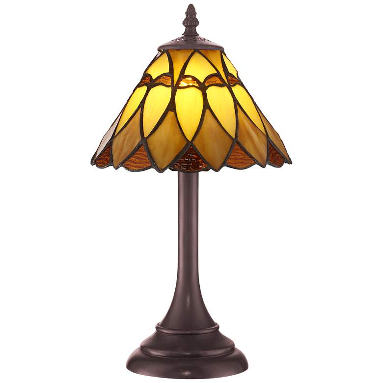 "Robert Louis Tiffany 14"" High Austin LED Accent Lamp"