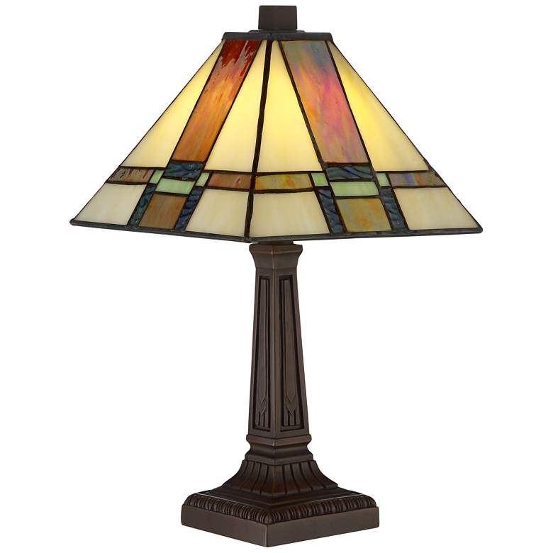 "Robert Louis 14 1/4"" high Tiffany Morris LED Accent Lamp"