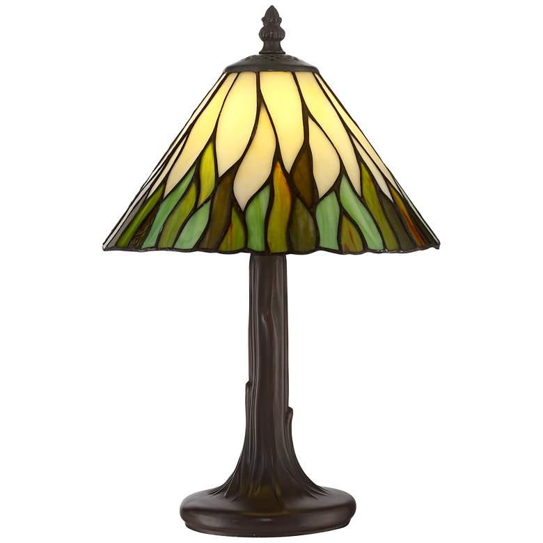 "Robert Louis Tiffany Foglia 14 1/2""H Accent Lamp"