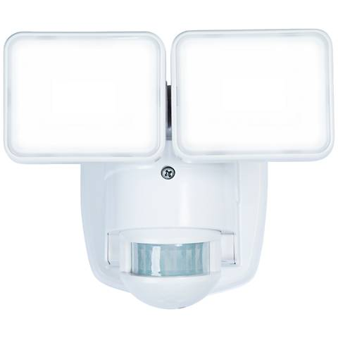White 1250 Lumen Motion-Activated LED Security Light