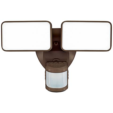 Bronze 2500 Lumen Motion-Activated LED Security Light